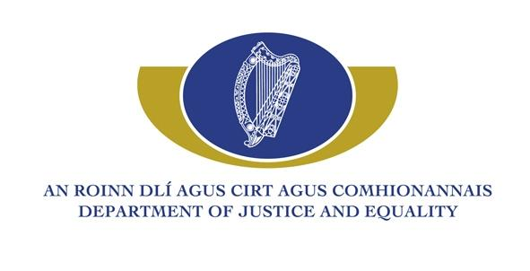 Department of Justice and Equality logo